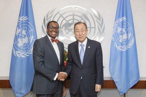 Ban Ki-moon joins AfDB's Adesina, IMF's Georgieva for GCA launch on Wednesday