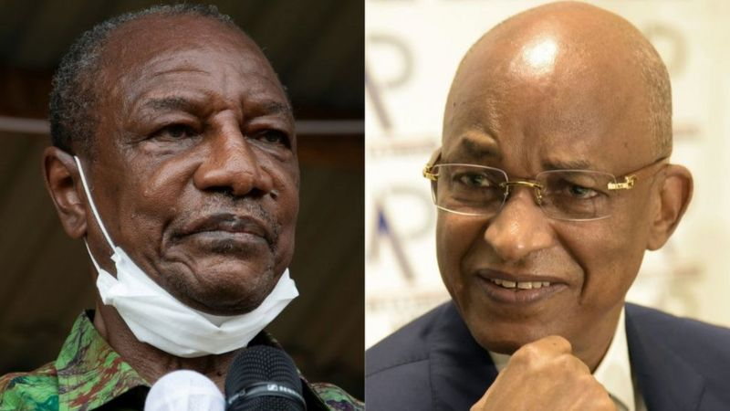 5.4 million voters decide fate of 13 million Guineans today: Conde and Diallo