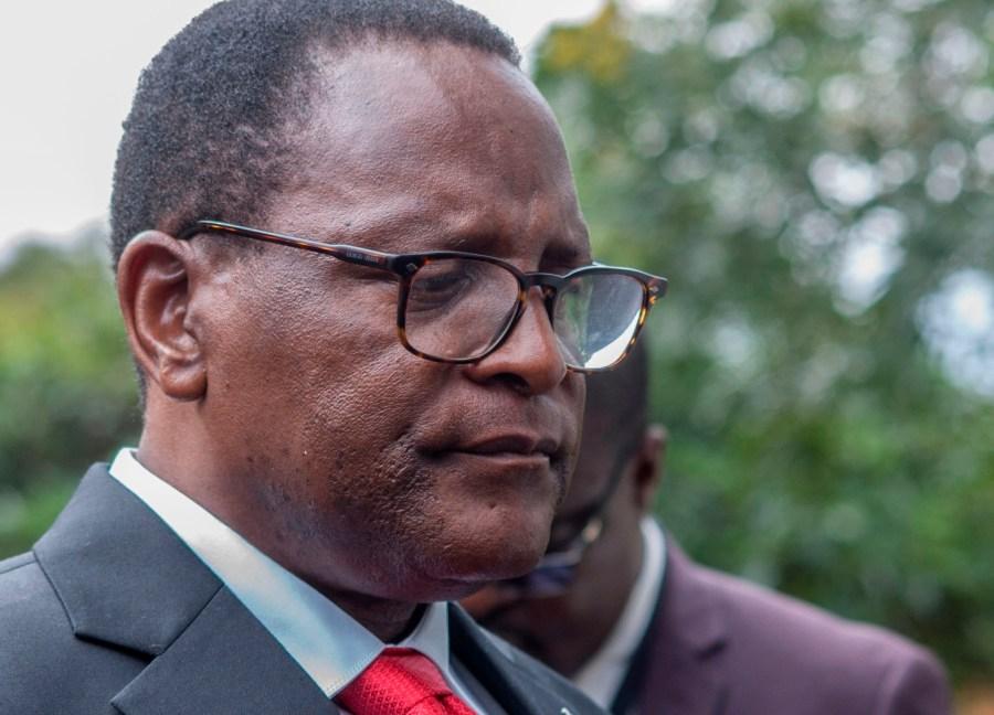 Malawi President, Lazarus Chekwara