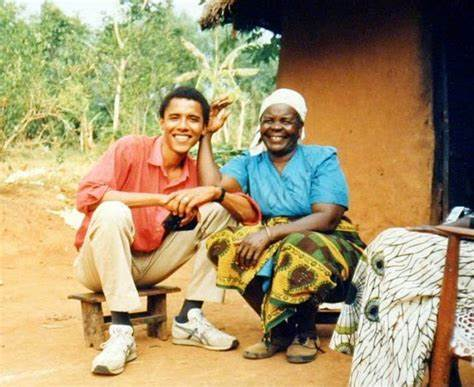 Obama's step-grandmother Sarah has been buried at her home in western Kenya in accordance to Muslim rites