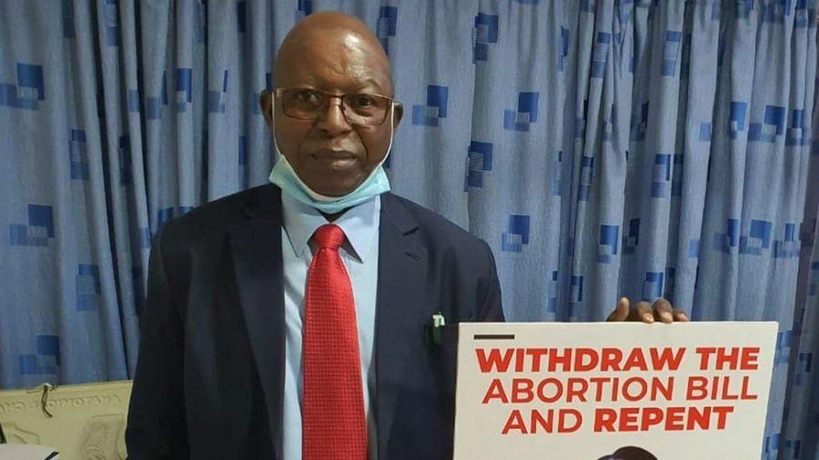 Stephen Karanja campaigned against COVID-19 Vaccine