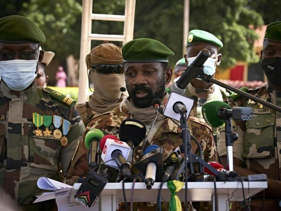 Col Assimi Goïta told to hold elections in Mali next February