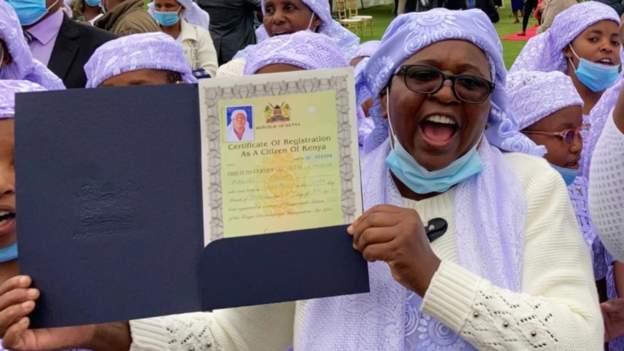 800 Shonas celebrate becoming Kenyans after 60 years of being stateless