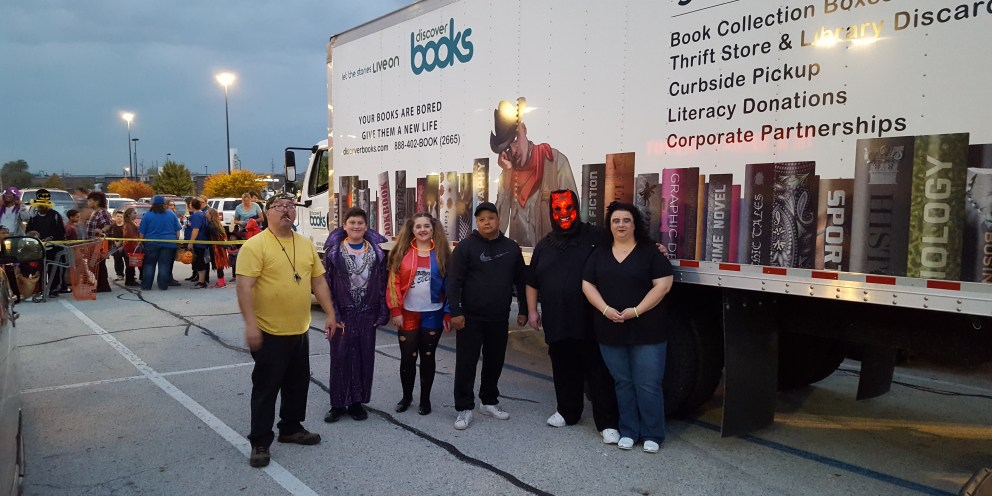 Trunk Or Treat with Discover Books