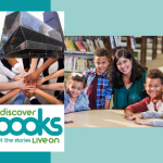 Seattle Public Library and Discover Books Donate Books to Kids in Need.