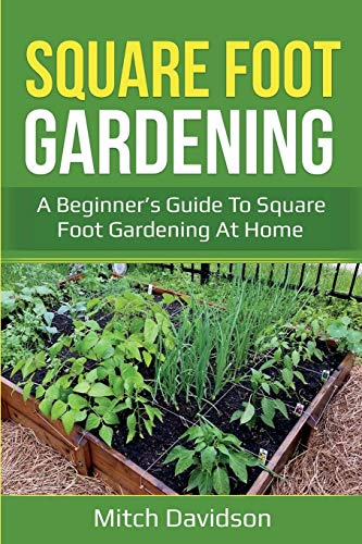 Book cover - image of raised garden bed divided into squares.