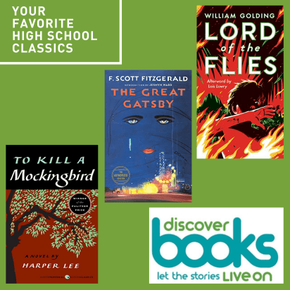 Your favorite High School classic novels - book cover