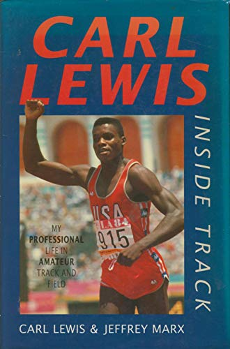 Olympic athlete Carl Lewis book cover