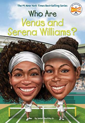 Olympic athletes Who are Venus and Serena Williams book cover