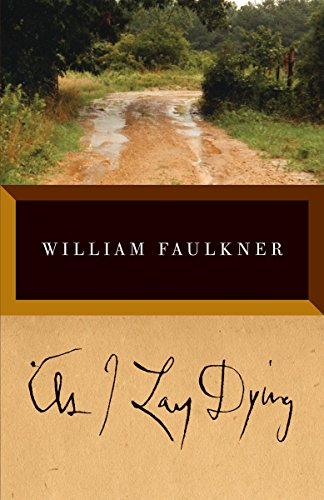 As I Lay Dying by William Faulkner book cover