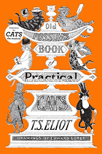 Old Possum's Book of Practical Cats by T.S. Eliot book cover