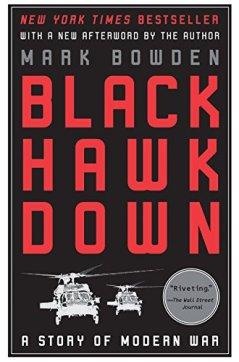 Black Hawk Down book cover