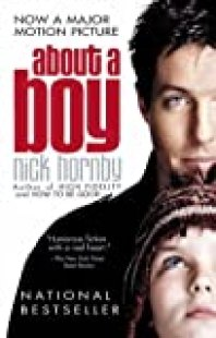 About a Boy book cover the movie tie in addition