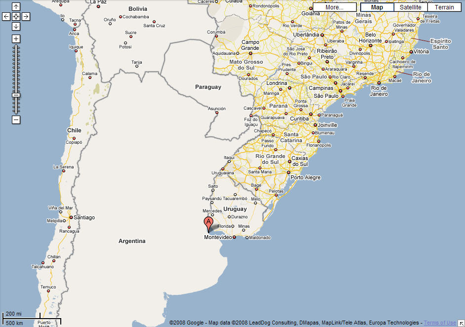 Expat Tech Google Maps Coming To Argentina Discover Buenos Aires - Google map of brazil