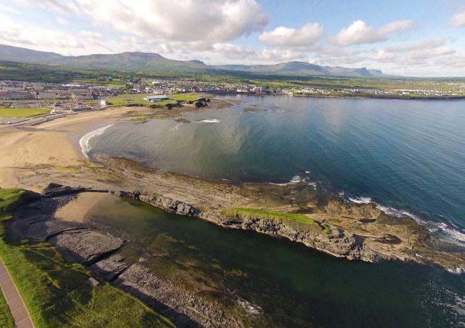 Main Beach Bundoran - one of the top beaches in South Donegal