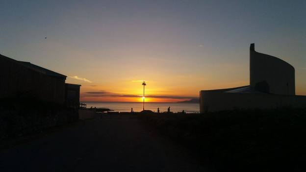 Sunset on Monday 15th August - Oisin McGranaghan
