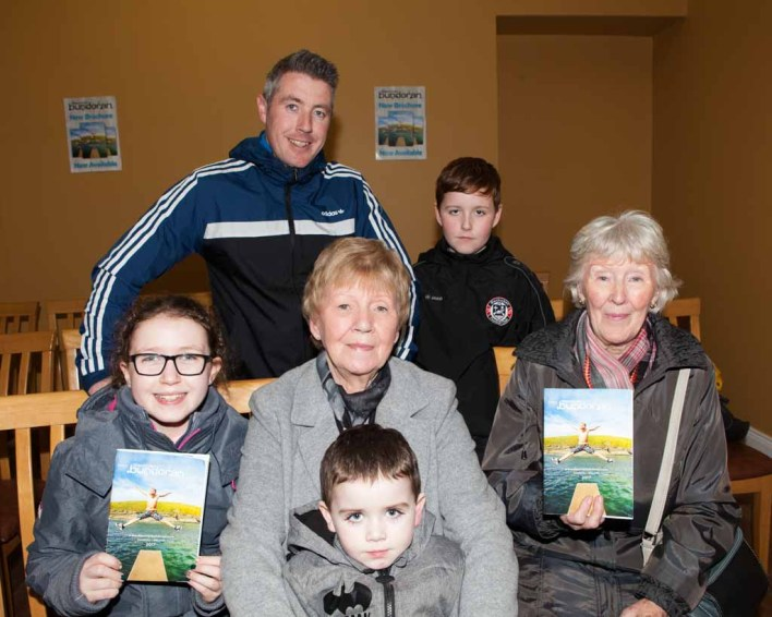 The Smyth family with Joan Duffy