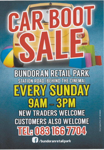 Car Boot Sale Discover Bundoran Tourist Information From