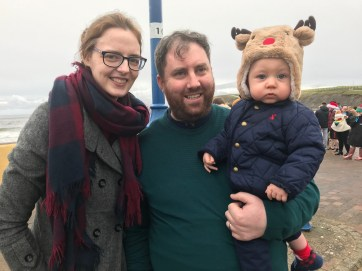 Laura, Cathal and Charlie Campbell