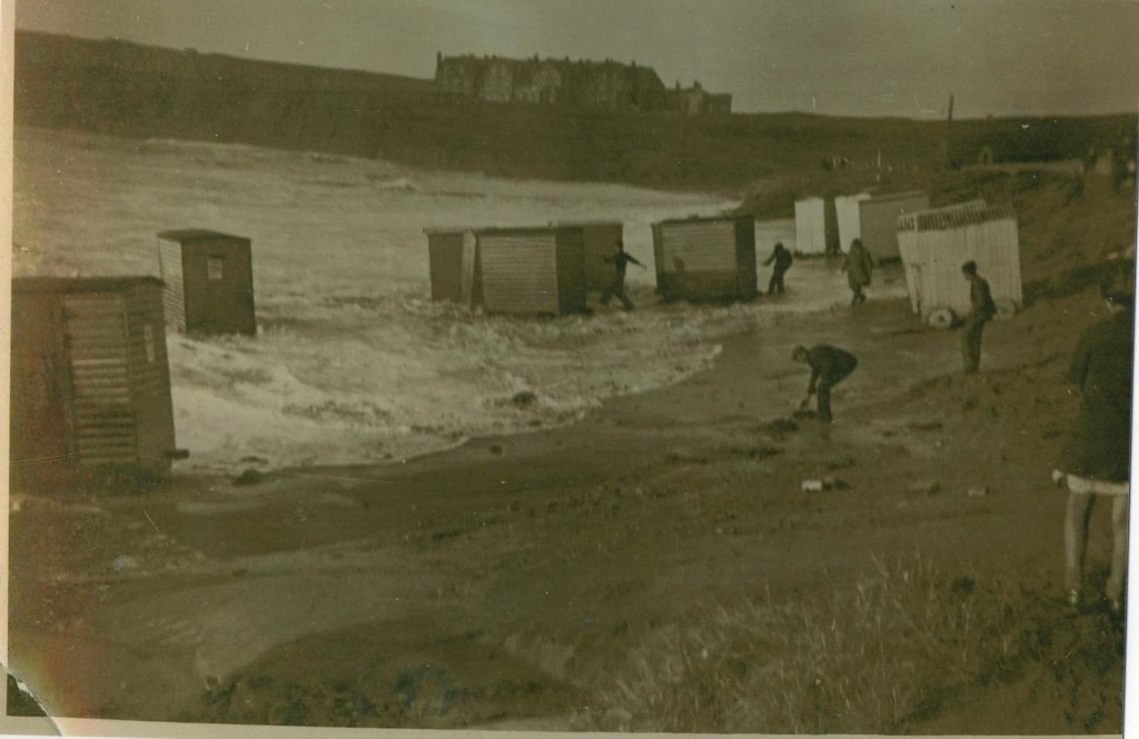 Hurricane Debi strikes Bundoran on Saturday September 16th 1961
