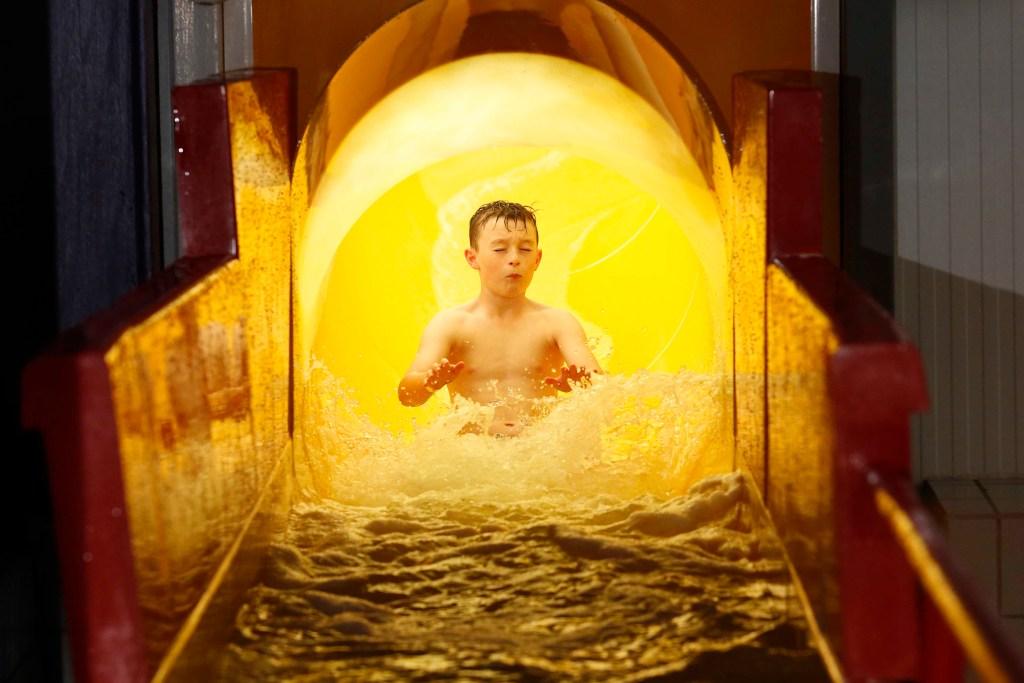 The Whizzer Slide at Waterworld