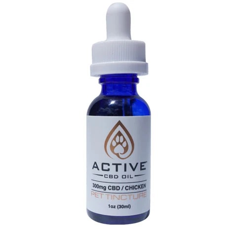 Active Pet Tincture 300mg Chicken