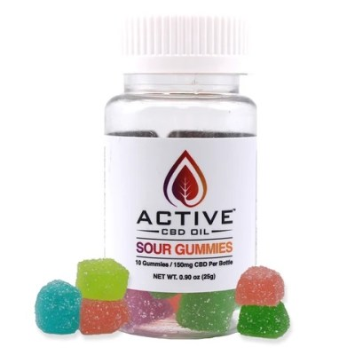 Active CBD oil Gummies 10 count