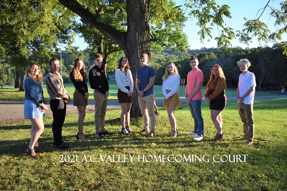 A-C Valley names homecoming court