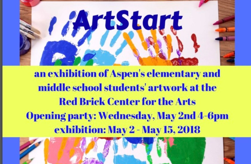 Art Start student art show at the Red Brick