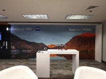 CES 2017 ExoLens booth design