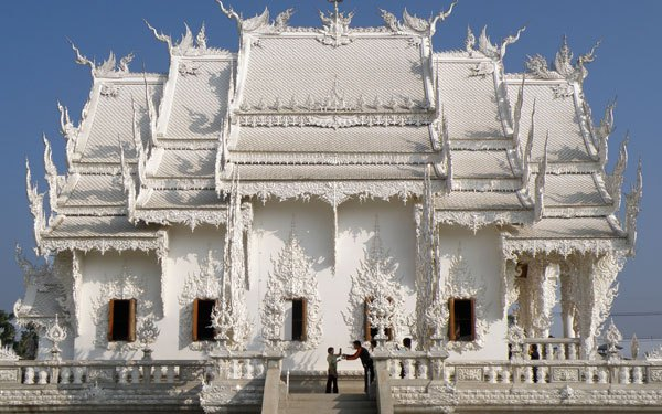 Things to do in Thailand - Explore the White Temple