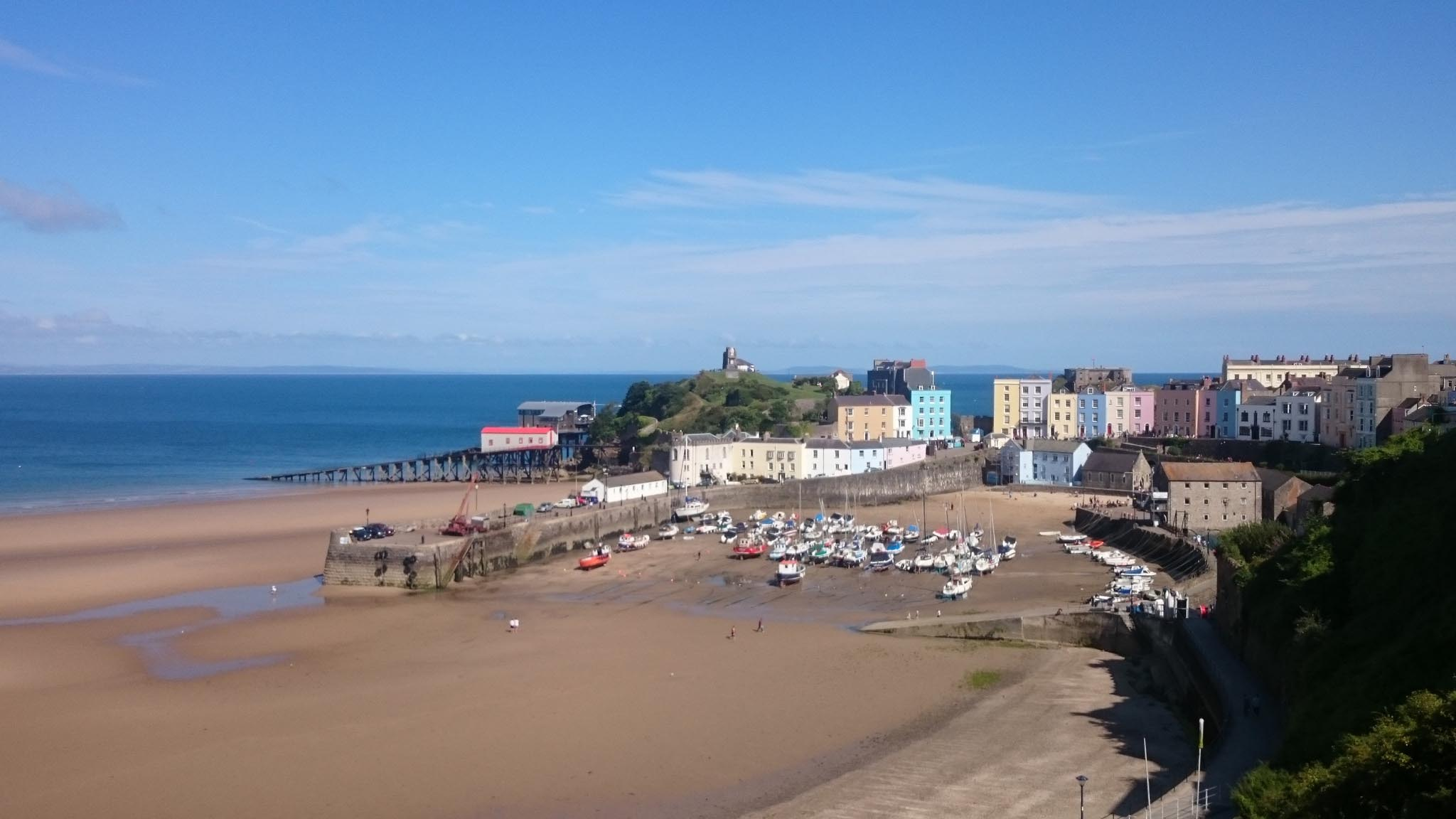 wales best beaches - tenby