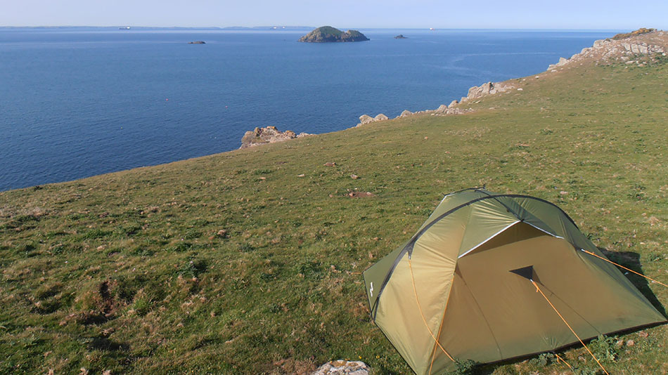 wild camp wales
