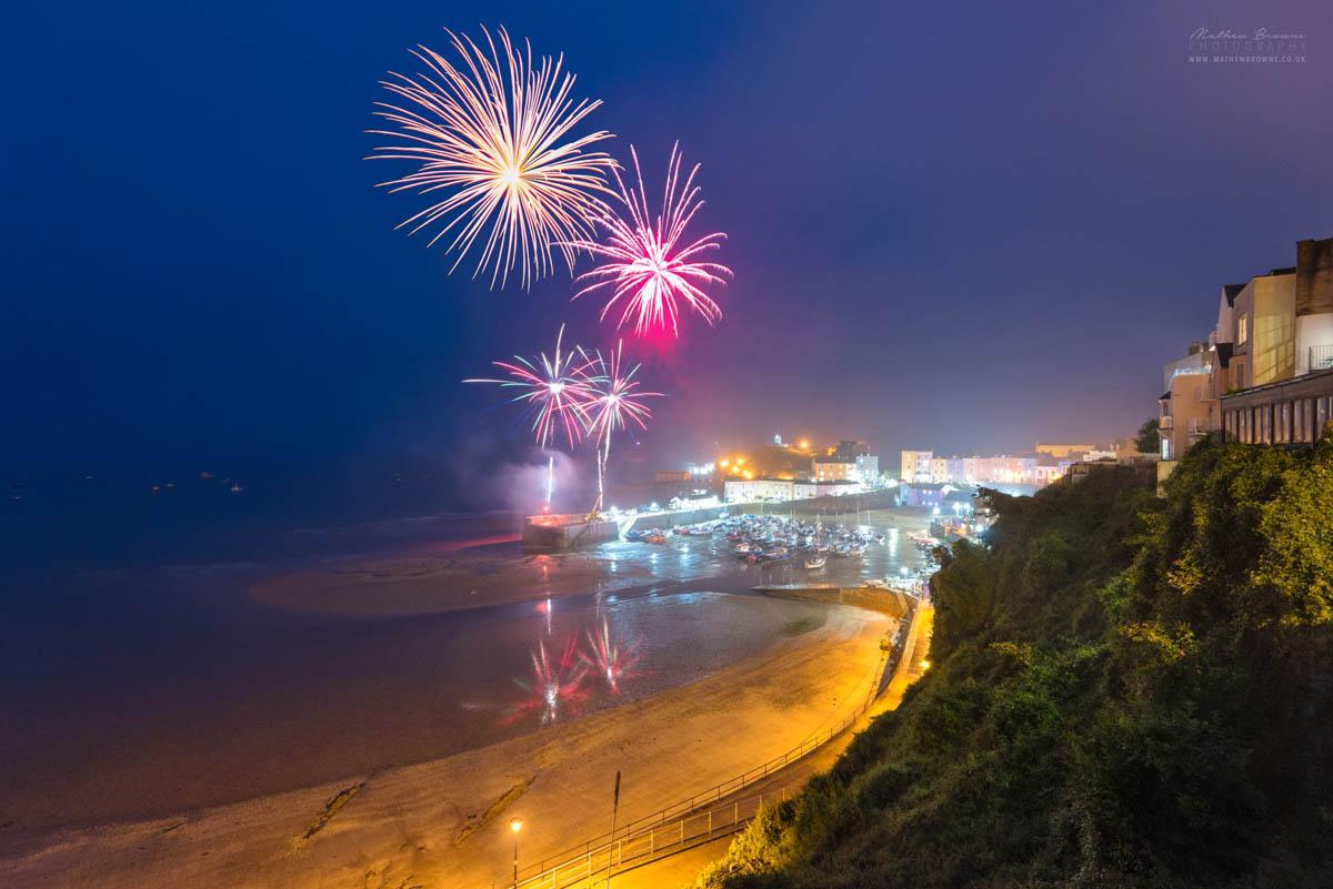 Tenby Fireworks