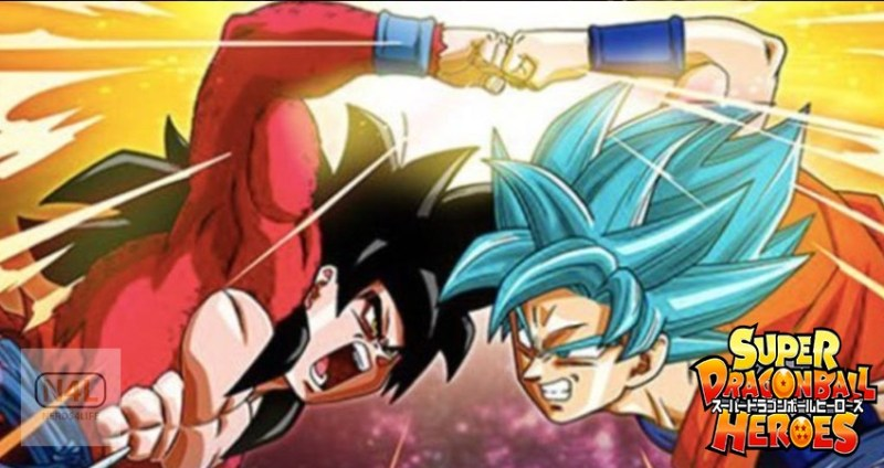 Dragon Ball Heroes Episode 1, Goku Vs Goku