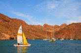 sailing in Loreto Bay