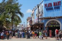 The south end of La Qunita during semana santa week (easter)