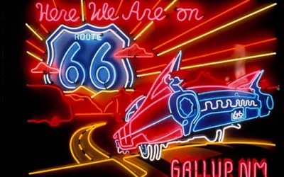 Route 66 Ride, Flight & Cruise