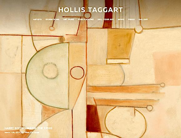 """Bertschmann: The 1950s"" at Hollis Taggart"