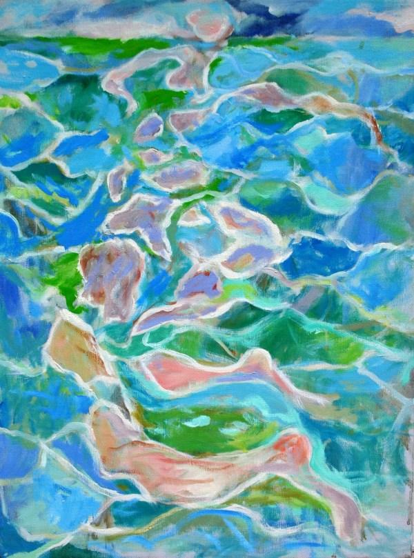 Figure in the Sea No.1