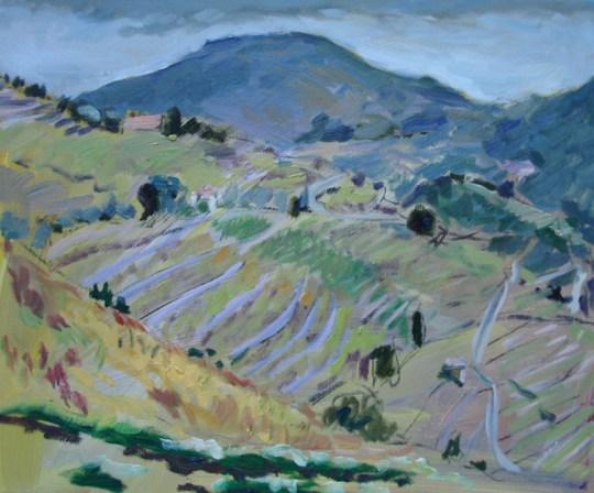 Collioure, Hills