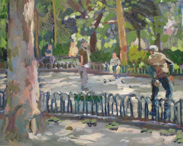 Luxembourg Gardens, Pétanque
