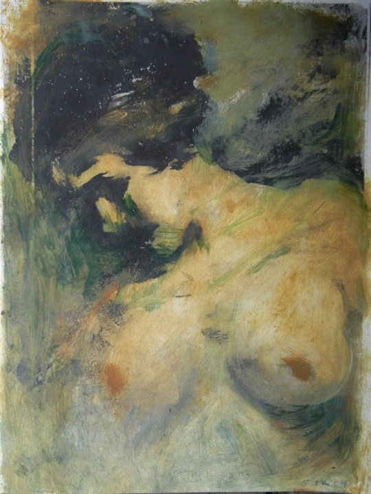 Nude (profile torso)