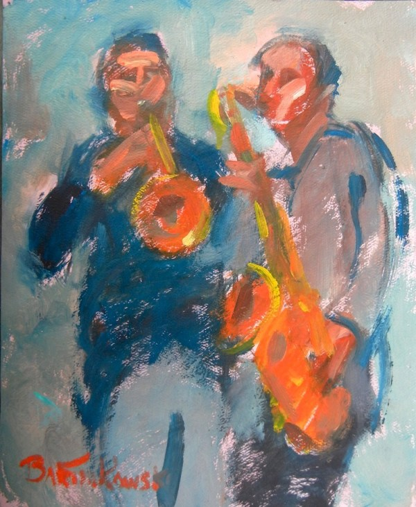 Trumpet and Sax