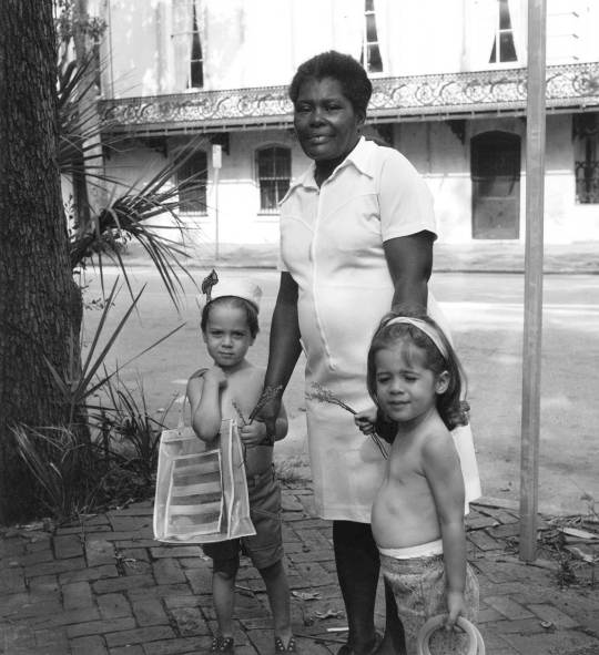 Caregiver and Children, Savannah, Georgia