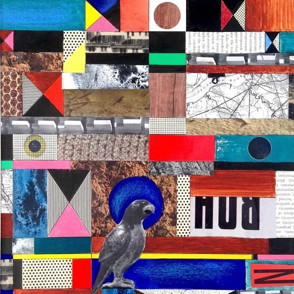 Untitled (Constructivist collage – Parrot)