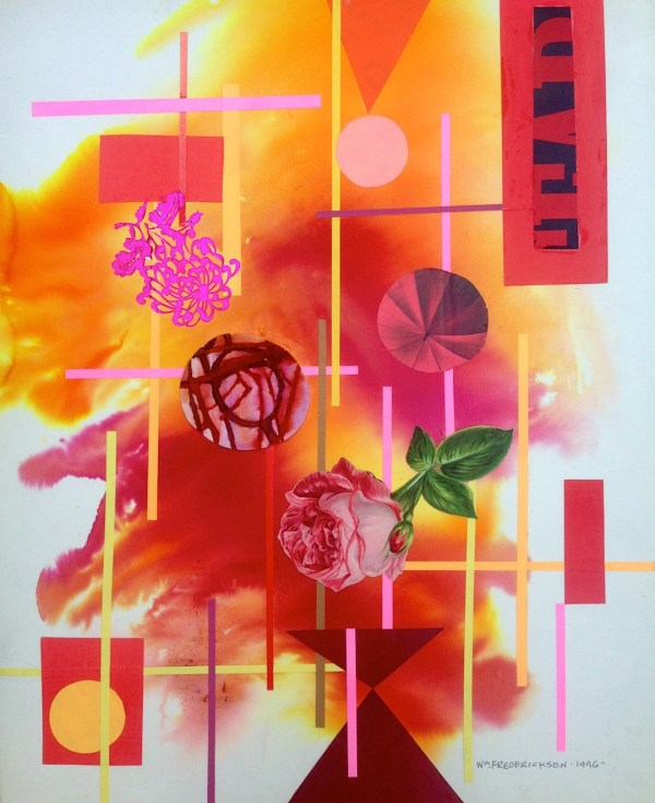 Untitled (Abstract composition, Roses)