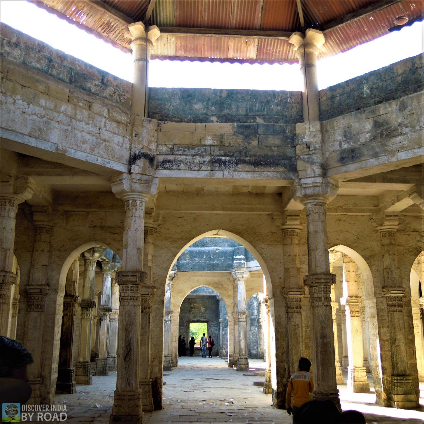 Inside Roof of Jumma Masjid at Uperkot fort