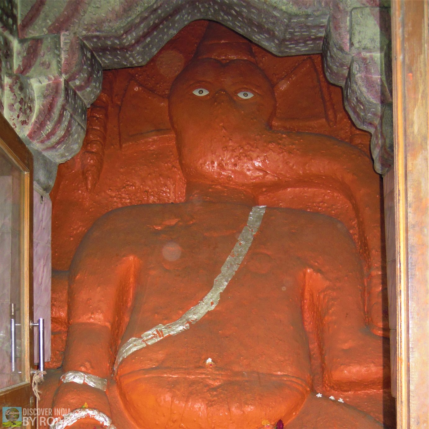 Ganeshji at entrance of Uperkot fort