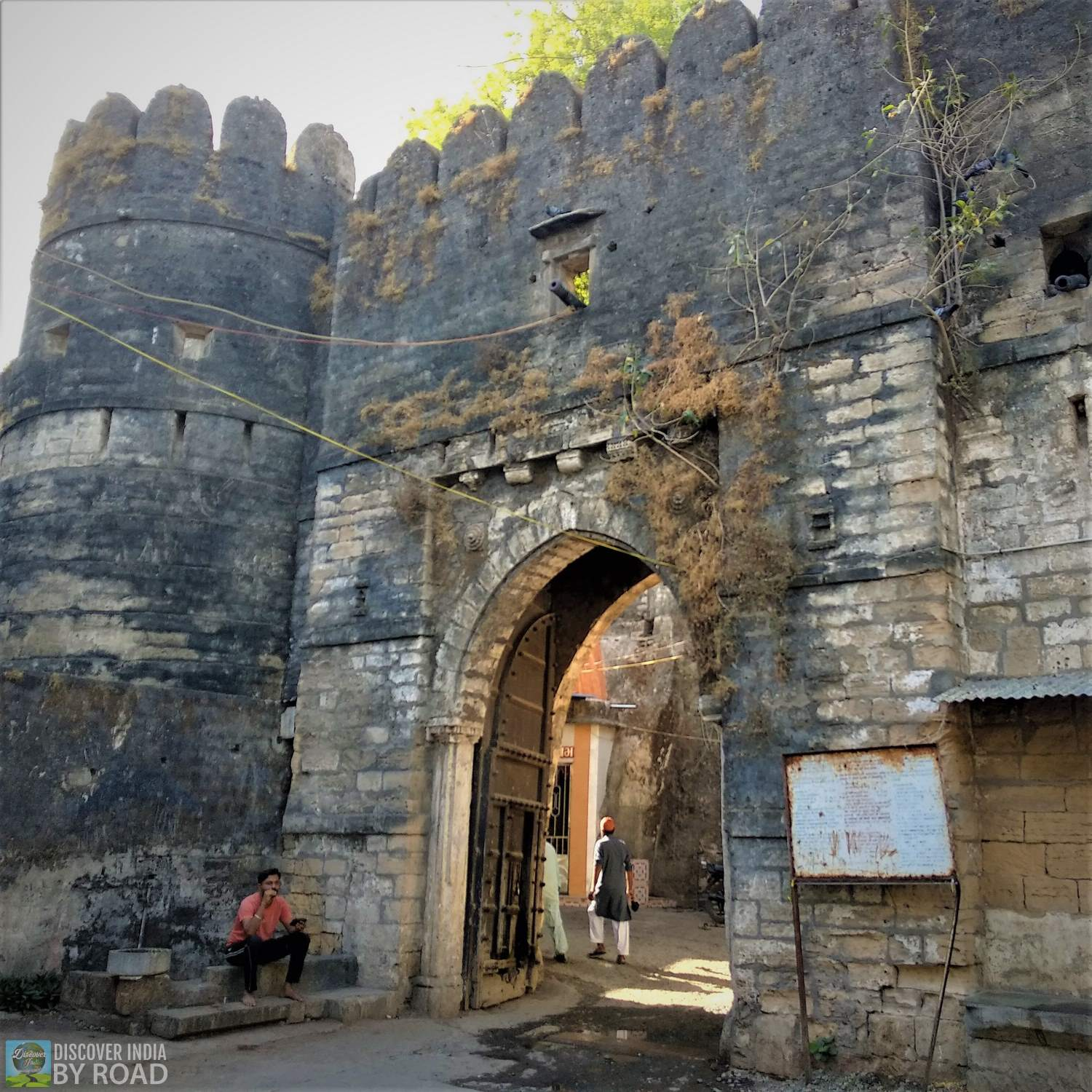 Uperkot fort main entry gate